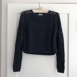 Cropped Sweater by Rebecca Taylor